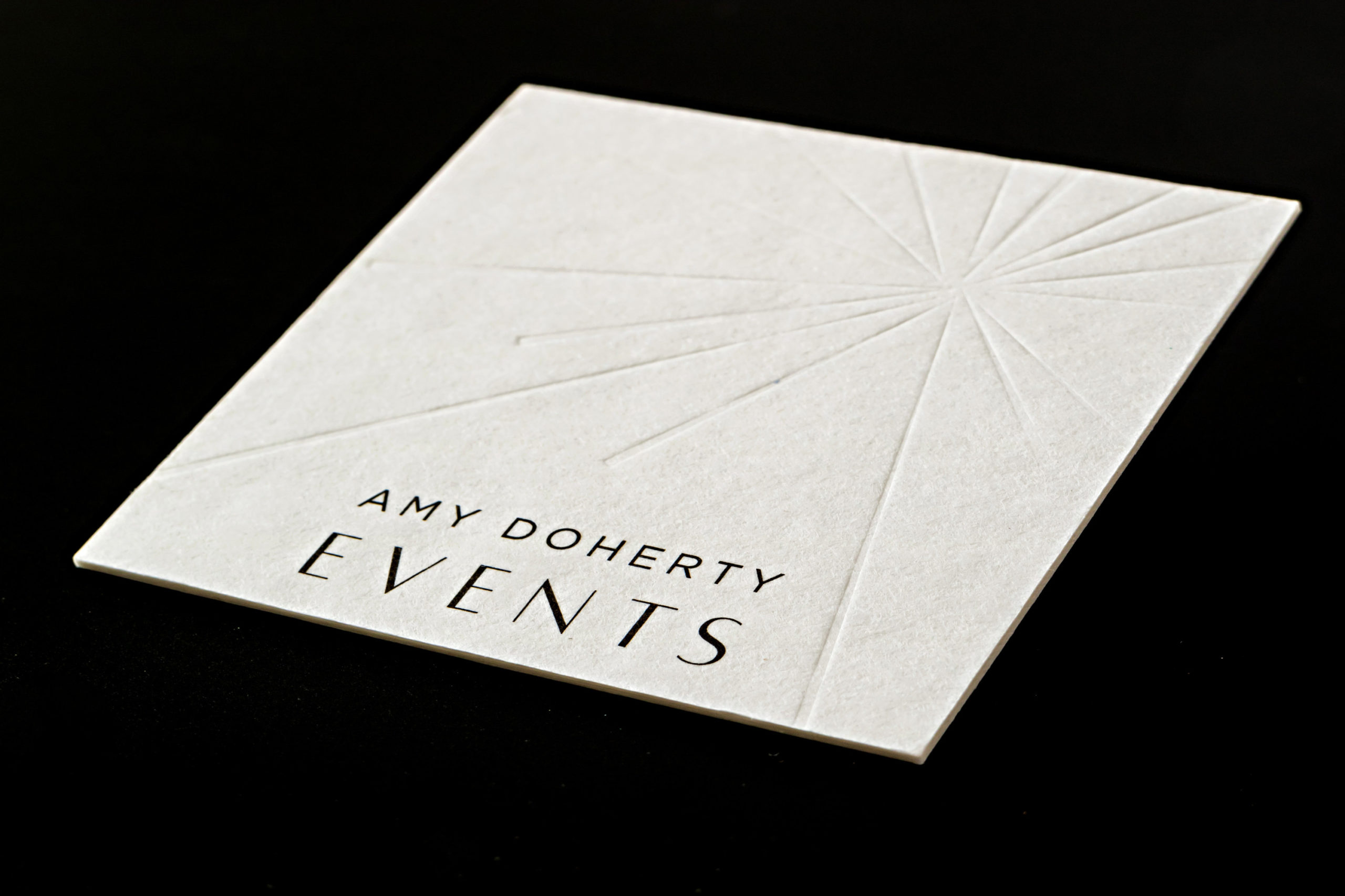 Print Online Best letterpress blind deboss business cards business cards