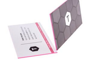 painted-edge-business-cards-neon-pink-pantone-pms