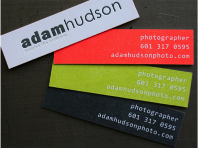 favorite mini business cards