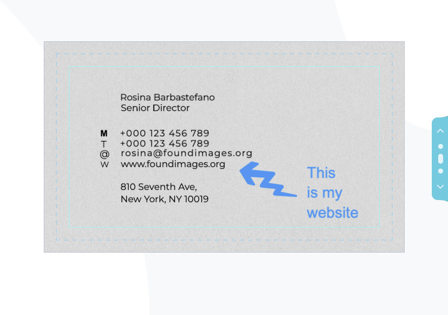 5 Essential Elements of An Effective Business Card