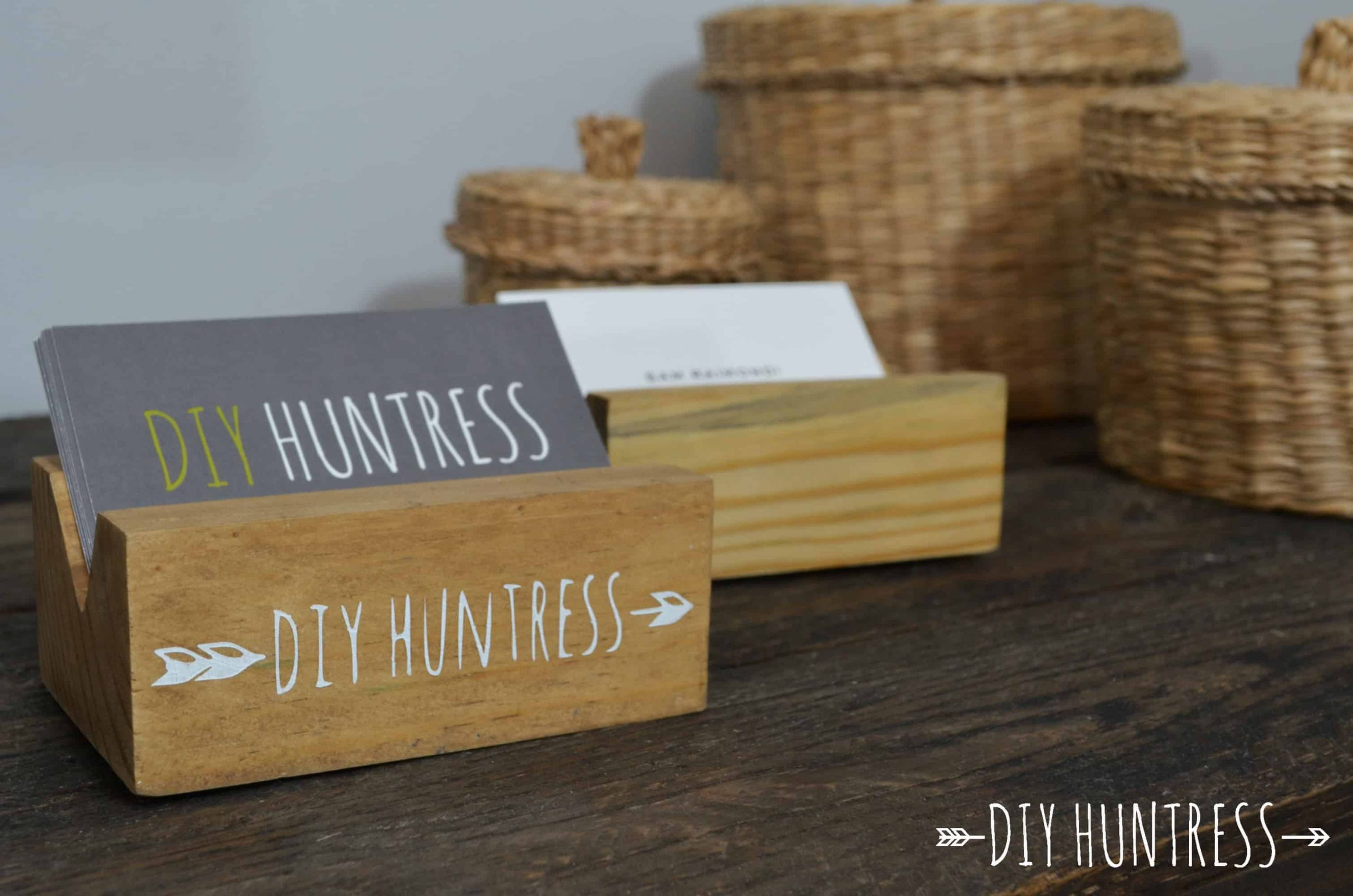 Business Card Holders that You Can Make At Home In Minutes!