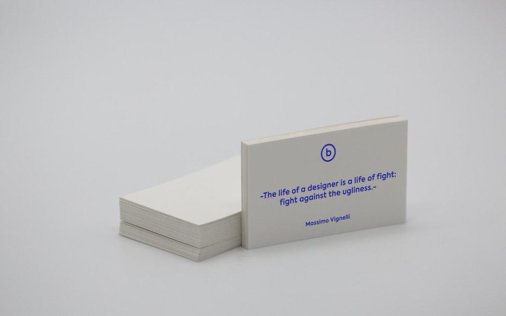 Print Online Best business-card-marketing-tool-massimo-vignelli