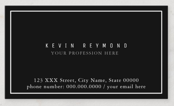 What to Put on a Business Card – Listing Your Educational and Professional Qualifications