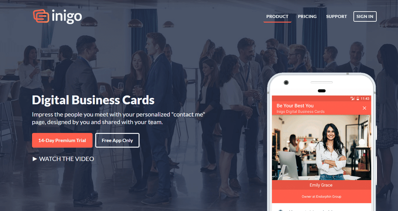 6 Apps For Creating Digital Business Card